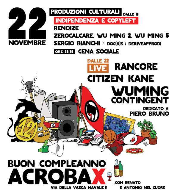 COMPLEANNO ACROBAX 22