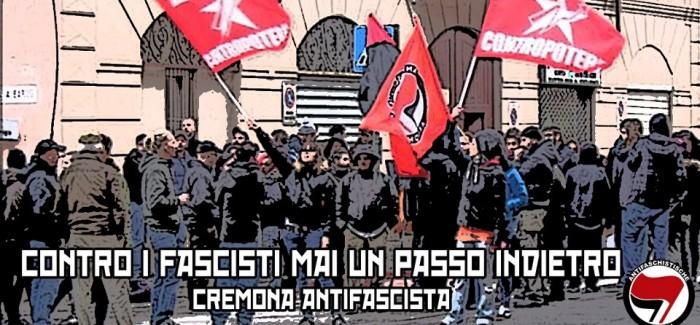 Ci siamo permessi di prendere l'immagine postata dai compagni di Cremona.